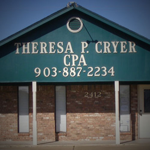 Theresa P Cryer website, by Clever Mutt™